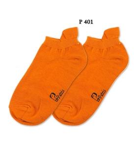 جوراب مچی نانو پاتریس ساده نارنجی کد 401