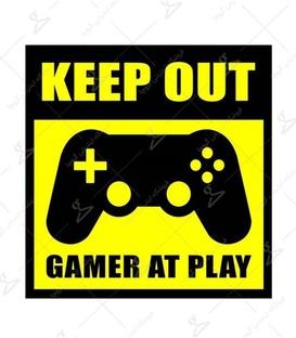 استیکر LooLoo طرح Gamer