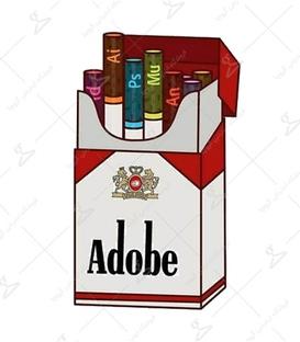 استیکر LooLoo طرح Adobe