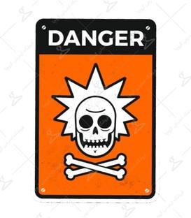 استیکر LooLoo طرح Danger