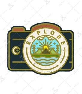 استیکر LooLoo طرح دوربین Explore