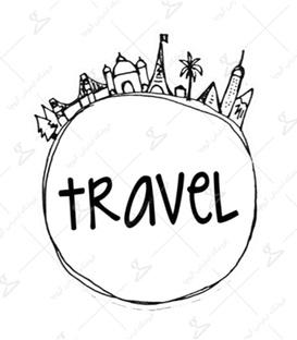 استیکر LooLoo طرح Travel