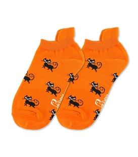 جوراب مچی نانو پاتریس طرح گربه نارنجی