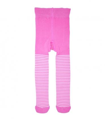 جوراب شلواری بچگانه Charanga طرح راه راه صورتی