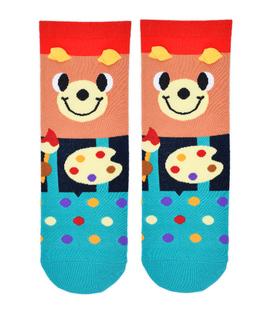 جوراب نیم ساق Coco & Hana طرح خرس نقاش