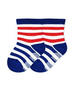 جوراب بچگانه کف استپدار طرح راه راه