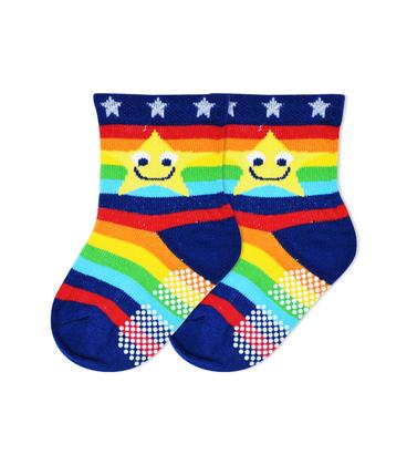 جوراب بچگانه کف استپدار طرح ستاره