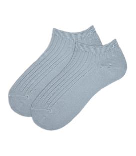 جوراب بچگانه مچی ساده خاکستری