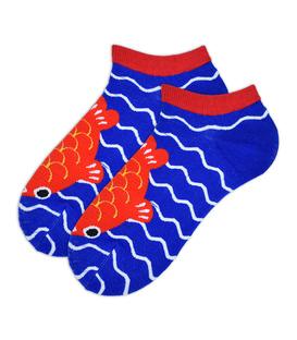 جوراب مچی طرح ماهی قرمز