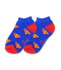 جوراب بچگانه نانو پاتریس طرح سوپرمن (۳ تا ۶ سال)