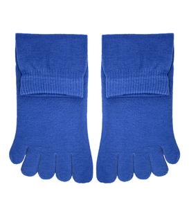 جوراب نیم ساق انگشتی ساده سرمهای