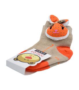 جوراب بچگانه عروسکی طرح خرگوش خاکی