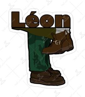 استیکر Lit Art لیت آرت طرح Leon