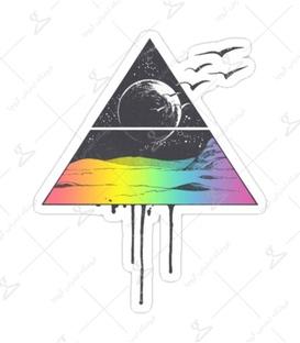 استیکر Lit Art لیت آرت طرح مثلث