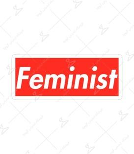 استیکر Lit Art لیت آرت طرح Feminist