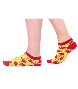 جوراب Özgür مچی طرح هندوانه زرد و قرمز