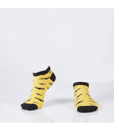جوراب Özgür مچی طرح خفاش زرد