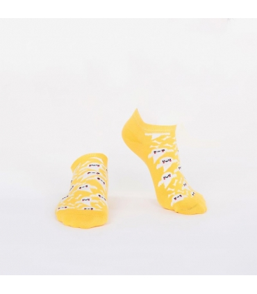 جوراب Özgür مچی طرح شبح زرد