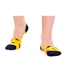 جوراب Özgür کالج طرح خفاش زرد
