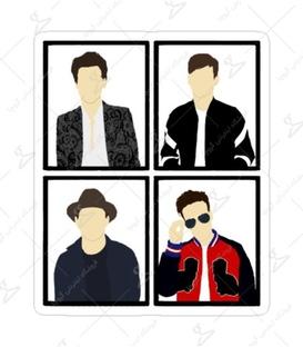 استیکر Lit Art لیت آرت طرح One Direction