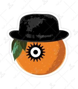 استیکر Lit Art لیت آرت طرح کارآگاه پرتقالی