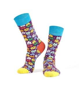 جوراب Özgür ازگور ساق دار طرح ربات کوچولو