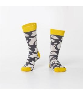 جوراب Özgür ازگور ساقدار طرح شبح خاکستری