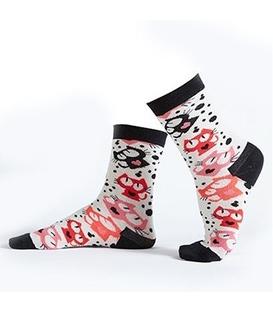 جوراب Özgür ازگور ساقدار طرح گربه ملوس