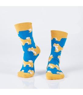 جوراب Özgür ازگور ساقدار طرح توله سگ