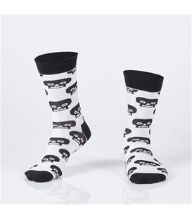 جوراب Özgür ازگور ساق دار طرح کله اسکلت