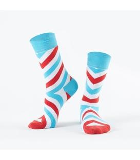 جوراب Özgür ازگور ساق دار طرح راه راه مورب