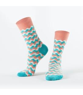 جوراب Özgür ازگور ساق دار طرح اعوجاج