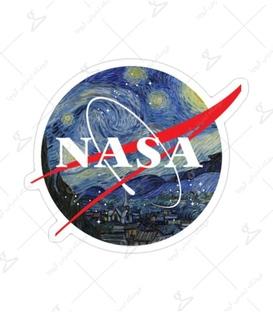 استیکر Lit Art لیت آرت طرح Nasa در شب پر ستاره