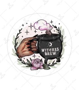 استیکر Lit Art لیت آرت طرح Witches Brew