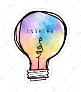 استیکر Lit Art لیت آرت طرح Inspire