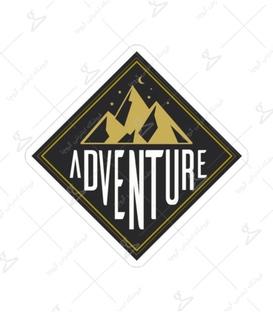 استیکر Lit Art لیت آرت طرح Adventur