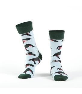 جوراب Özgür ازگور ساقدار طرح ابزار آبی و سبز