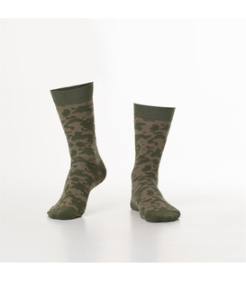 جوراب Özgür ازگور ساق دار طرح ارتشی خاکی