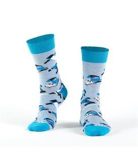 جوراب Özgür ازگور ساق دار طرح ابزار آبی