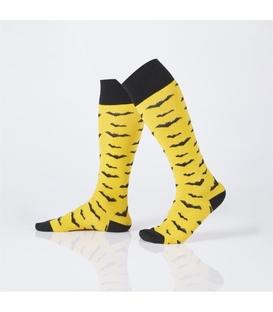 جوراب Özgür ازگور زیر زانو طرح خفاش زرد