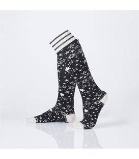 جوراب Özgür ازگور زیر زانو طرح ستاره مشکی
