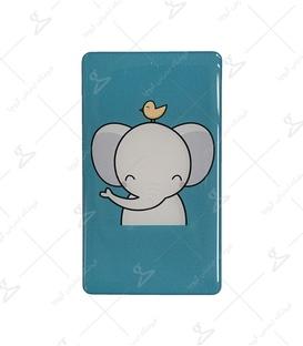 استیکر ژله ای برجسته موبایل لیت آرت طرح فیل کوچولو