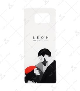 استیکر ژله ای برجسته موبایل لیت آرت طرح Leon