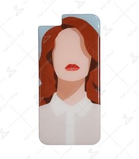 استیکر ژله ای برجسته موبایل لیت آرت طرح BOSS Lady