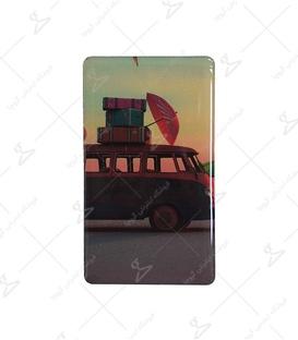 استیکر ژله ای برجسته موبایل لیت آرت طرح سفر