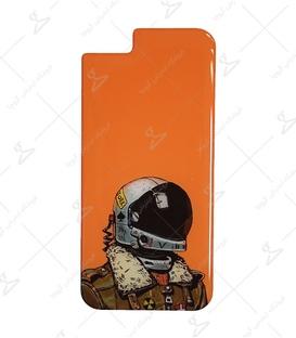 استیکر ژله ای برجسته موبایل لیت آرت طرح خلبان جنگنده