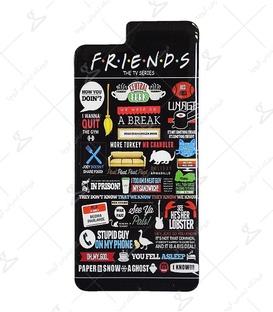 استیکر ژله ای برجسته موبایل Lit Art لیت آرت طرح Friends