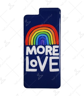 استیکر ژله ای برجسته موبایل Lit Art لیت آرت طرح More Love
