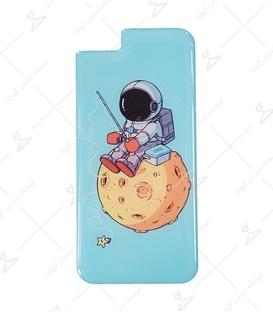 استیکر ژله ای برجسته موبایل Lit Art لیت آرت طرح فضانورد ماهیگیر
