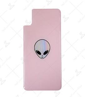 استیکر ژله ای برجسته موبایل لیت آرت طرح Alien صورتی